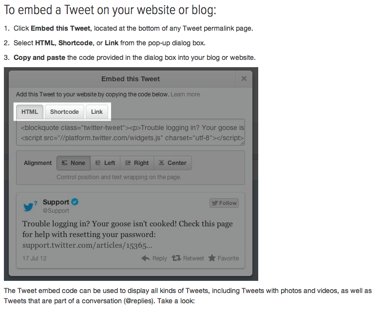 How to Embed a Tweet