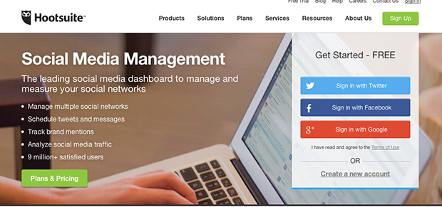 Twitter Management with HootSuite