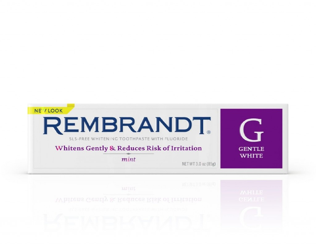 2 - Rembrandt Gentle Teeth Whitening Toothpaste
