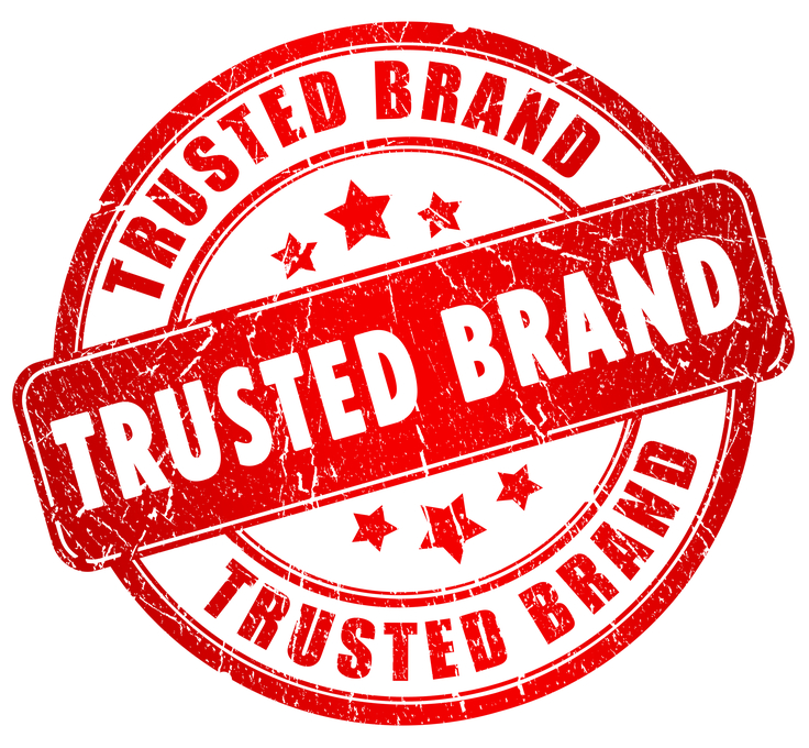 Trusted brand stamp