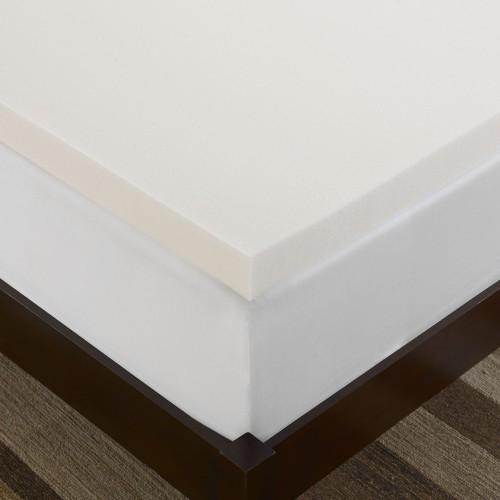 twin memory foam mattress topper for a good night s sleep. Black Bedroom Furniture Sets. Home Design Ideas