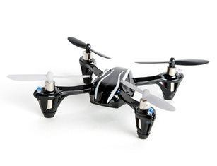 Hubsan X4 (H107L) 4 Channel 2.4GHz RC Quadcopter, Black