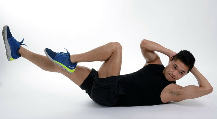 Body weight workout exercises