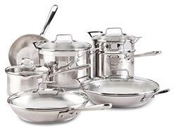 Emeril All-Clad Stainles Steel Cookware Set