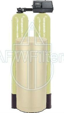 Fleck 9100SXT Dual tank water softener 48k 48000 grain with the digital 9100 sxt valve