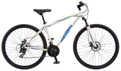 Mongoose Mens Banish 20 Hybrid Bike