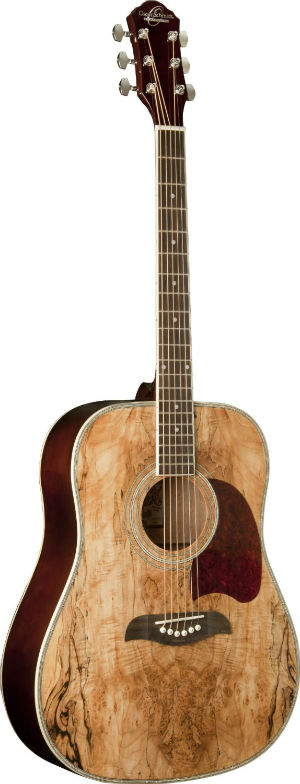 Oscar Schmidt OG2SM Acoustic Guitar  Spalted Maple