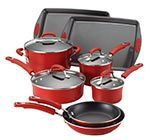 Rachael Ray Porcelain Enamel II Nonstick Cookware Set