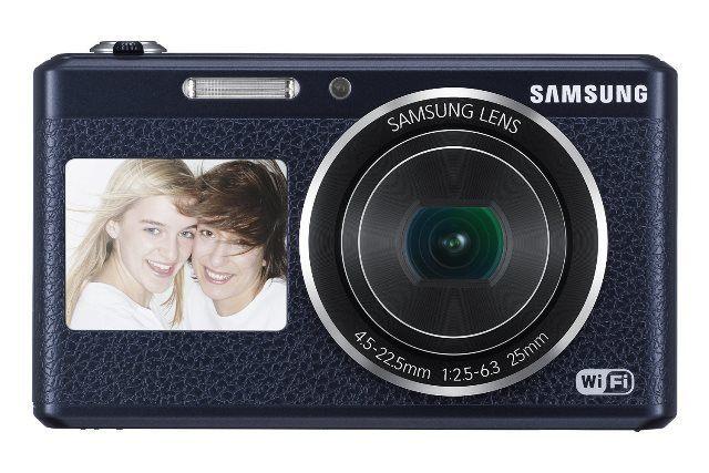 Samsung Electronics EC-DV180FBPBUS Dual-View Wireless Smart Camera
