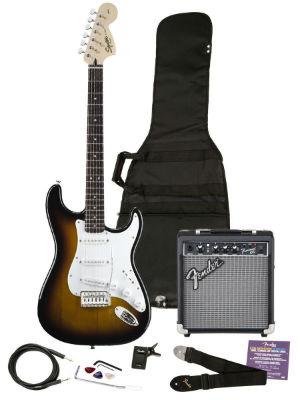 Squire 030 Electric Guitar Bundle