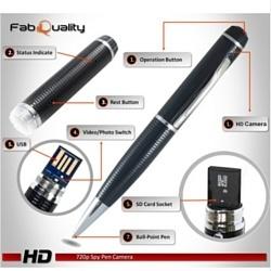 Hidden Camera Spy Pen 720p