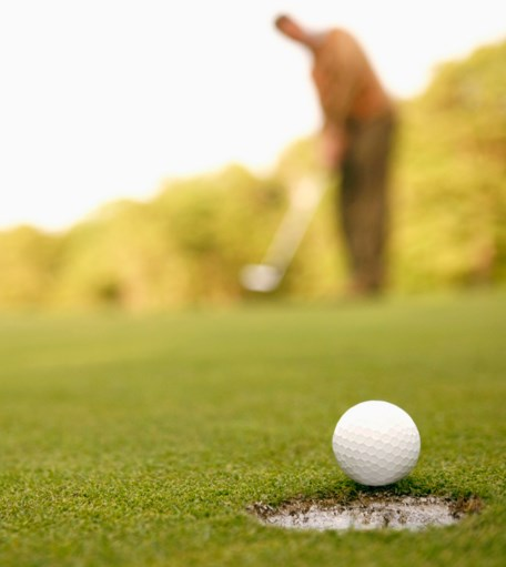 target golf hole