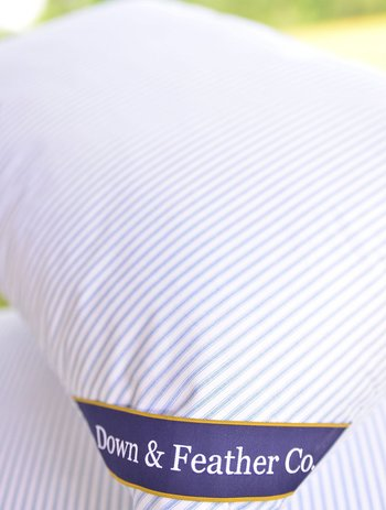 down&feather original soft feather pillow