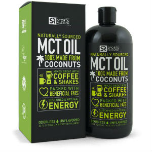 sports research premium mct oil