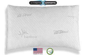 xtreme comfort shredded memory foam pillow
