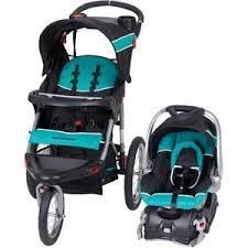 Baby Trend Expedition Jogger Travel System WITH Baby Trend Easy Flex Infant Car Seat