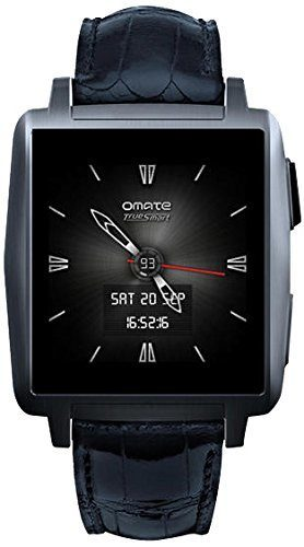 Omate X Smart Watch for iPhone and Android - Anthracite