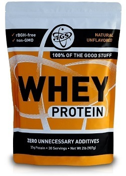 TGS All Natural 100 Percent Whey Protein Powder
