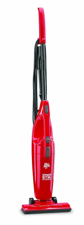 Dirt Devil SD20000RED Simpli-Stik Lightweight Bagless Stick Vacuum