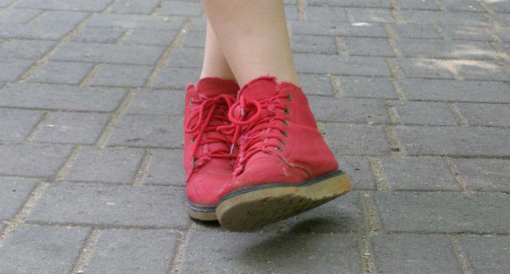 stylish walking shoes