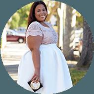 Chastity Garner Top 25 Plus-Size Fashion Bloggers