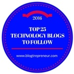 top 25 technology blogs in 2016