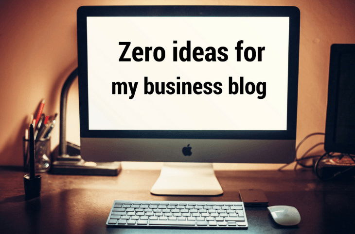 business blog ideas