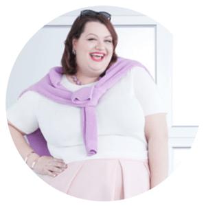 Sarah Conley Top 25 Plus-Size Fashion Bloggers