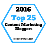 Top 25 Content Marketing Bloggers to Catch Up On