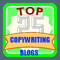 25 Successful Copywriting Blog Badge