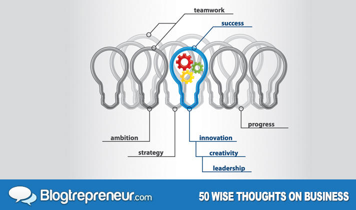 50 Wise Thoughts on Business