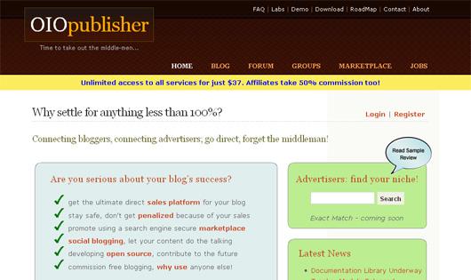 OIOPublisher Screenshot