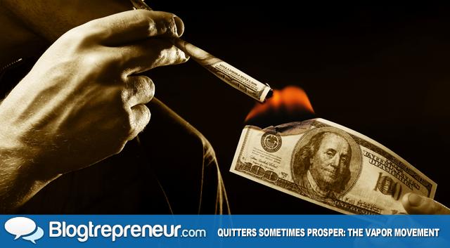 Quitters Sometimes Prosper - The Vapor Movement