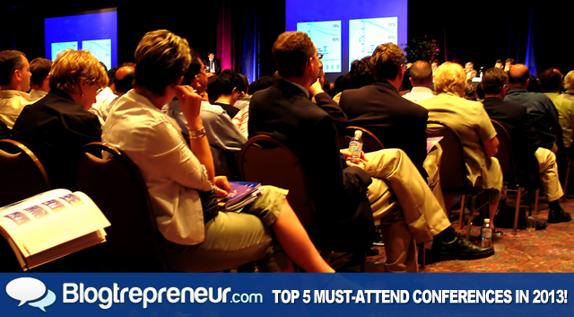 Top 5 Must-Attend 2013 Conferences for Entrepreneurs