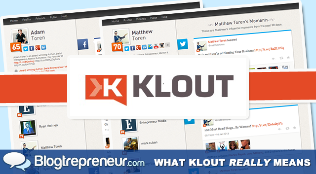 What Klout Really Means and the Future of Social Media Influence
