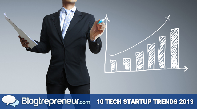 10 Trends That Will Dominate the Tech Startup World in 2013