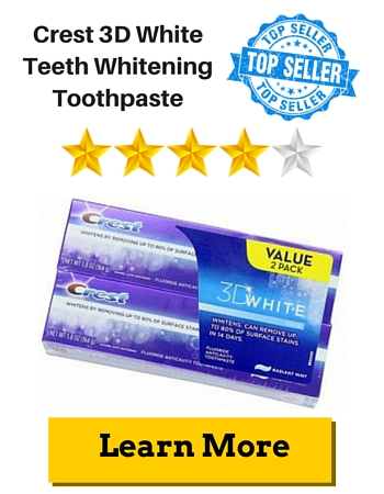 Crest 3D White Teeth Whitening Toothpaste
