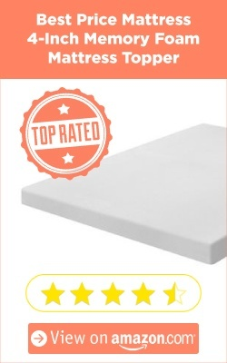 Best 4 Inch Memory Foam Mattress Toppers Blogtrepreneur