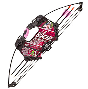 6a06f1f0bc7 Barnett Outdoors Lil Banshee Jr. Compound Youth Archery Set