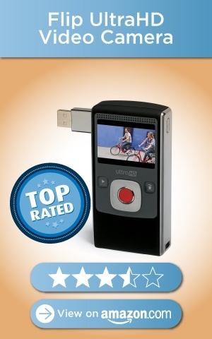 Flip UltraHD Video Camera, Amazon rating