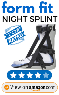 Form Fit Night Splint LARGE