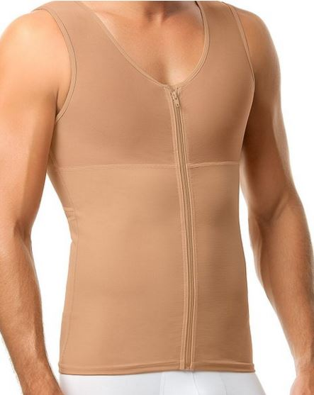Mens Slimming Compression Shirt Body Shaper