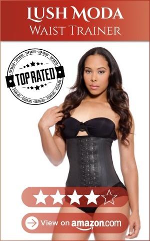 lush moda waist trainer, 4 stars