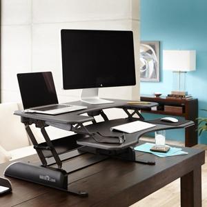 VARIDESK Pro Plus Height-Adjustable Standing Desk