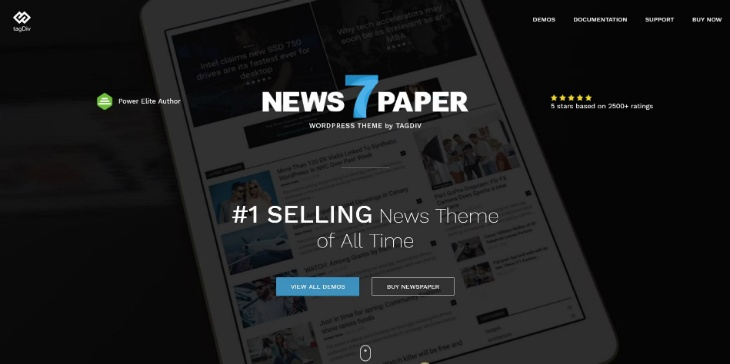 best paid themes newspaper 7