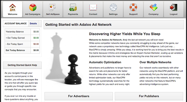 Inside the Adaloo Ad Network